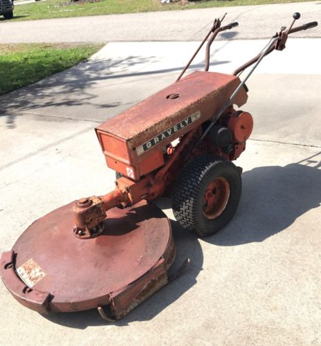 Gravely Commercial 12 Two (2) Wheel 12 HP Kohler Walk Behind Lawn Tractor Mower