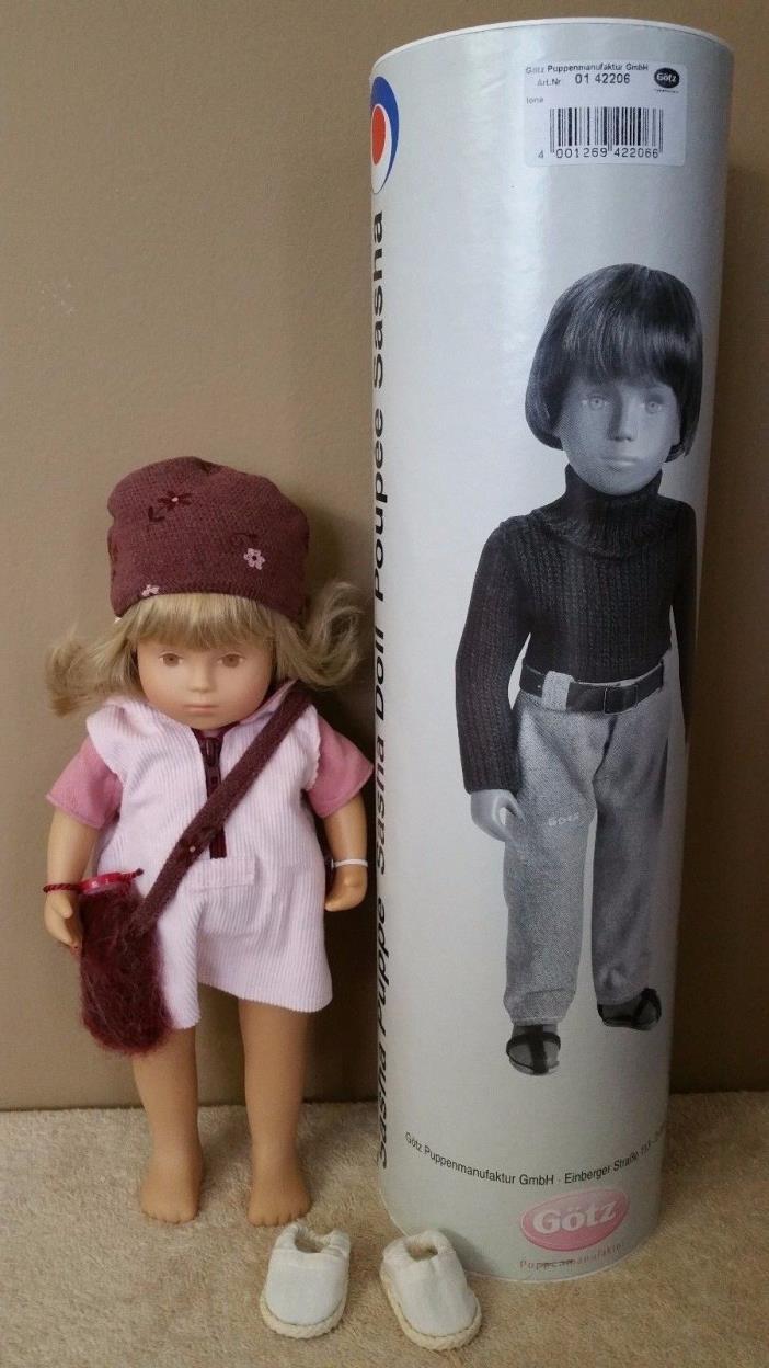 Gotz 2nd German Production Sasha Toddler Doll Iona Blonde Hair Brown Eyes