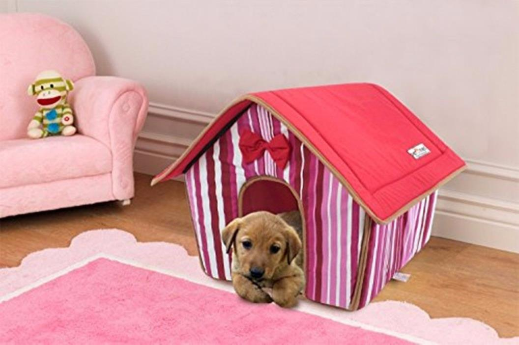 Premium Pet House Collapsible and Lightweight Soft Durable Stylish Puppies Cats