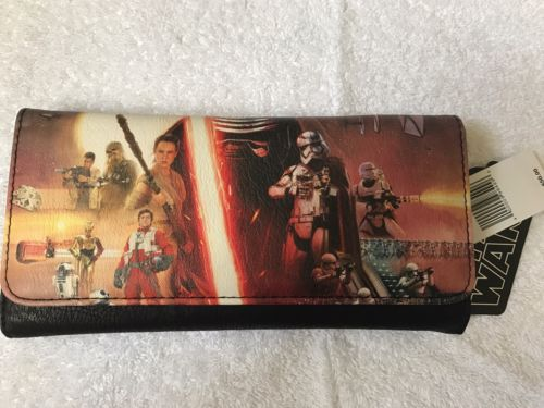 Disney Star Wars The Force Awakens Loungefly Trifold Faux Leather Women's Wallet