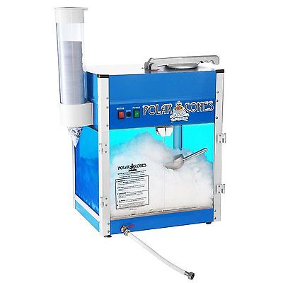Great Northern Snow Cone Machine Shaved Ice Maker for SnoCones and Slushies NEW