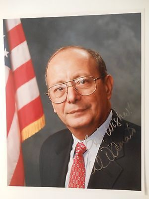 Alfonse D'Amato Signed Color Photograph~8 x 10 Senator US New York