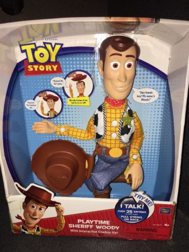 Woody Toy Story 3 Games : Toy story talking woody doll for sale classifieds