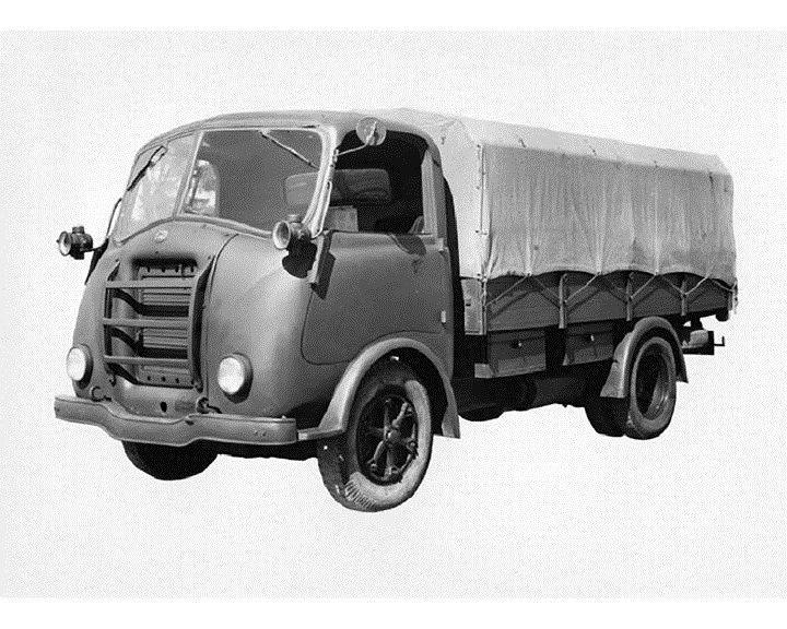 1952 Alfa Romeo Stake Truck Factory Photo ca6067