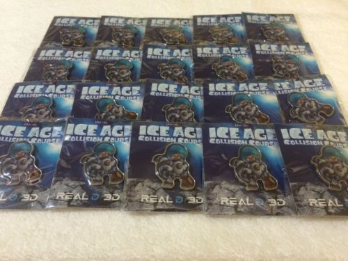 Scrat Ice Age Collision Course Pins - Set of 20