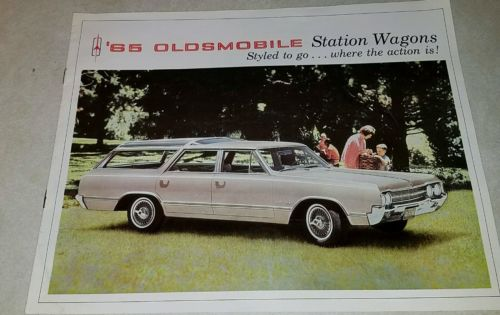 1965 Oldsmobile Station Wagon Sales Brochure