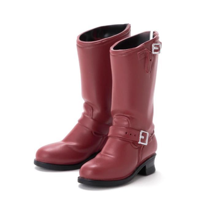 Sekiguchi Red Brown Engineer Boots for momoko in US