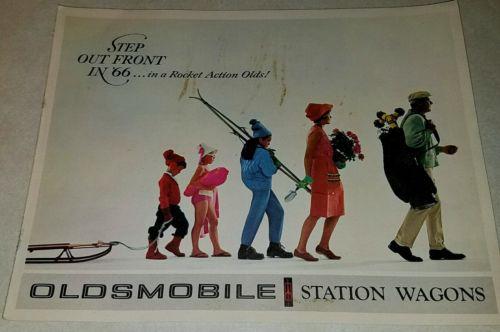 1966 Oldsmobile Station Wagon Sales Brochure