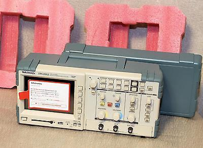 TEKTRONIX TPS2012 Oscilloscope 100 MHz 2-Channel NOS w/ 2 Probes Unused TPS-2012