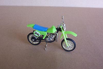 Kawasaki KX 125 Dirt Bike1:24 Ridge Riders Motorcycle 1 Vtg Htf Toy