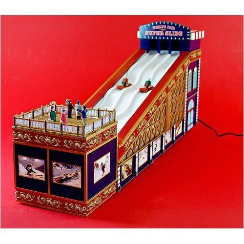 NEW Mr Christmas World's Fair Super Slide Multi-Action/Lights 30 Tune Music Box