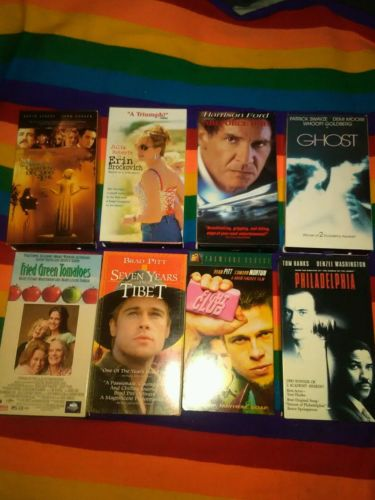 Lot of 8 VHS Movies Action/ Drama