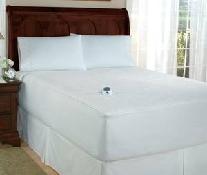 Perfect fit Electric Heated Queen Mattress Pad - low voltage (Chicago)