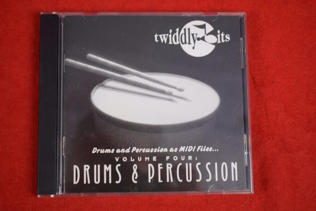 Twiddly Bits drums and percussion midi files vol 4 3.5