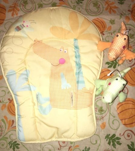 Fisher Price Cradle Swing Replacement Infant Support And 2 Moblie Pieces