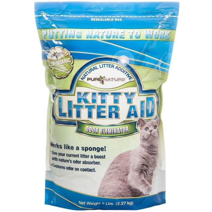 Cat Litter Odor Eliminator 5 lb All Natural Stinks Neutralizer Additive Supplies