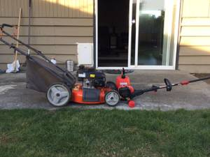Honda Pwr lawn mower, 4 Cycl Troybilt WW with power start (Seattle)
