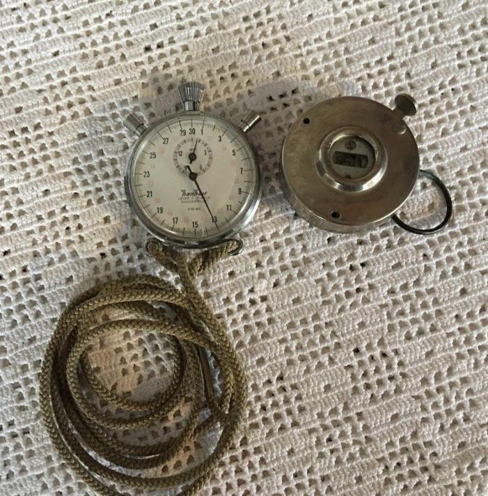Vintage Hanhart Stopwatch & Tally Register