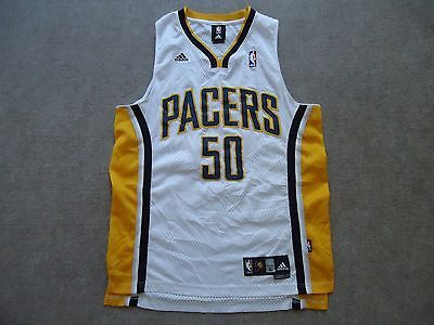 NBA Indiana Pacers Tyler Hansbrough Basketball Adidas jersey Large