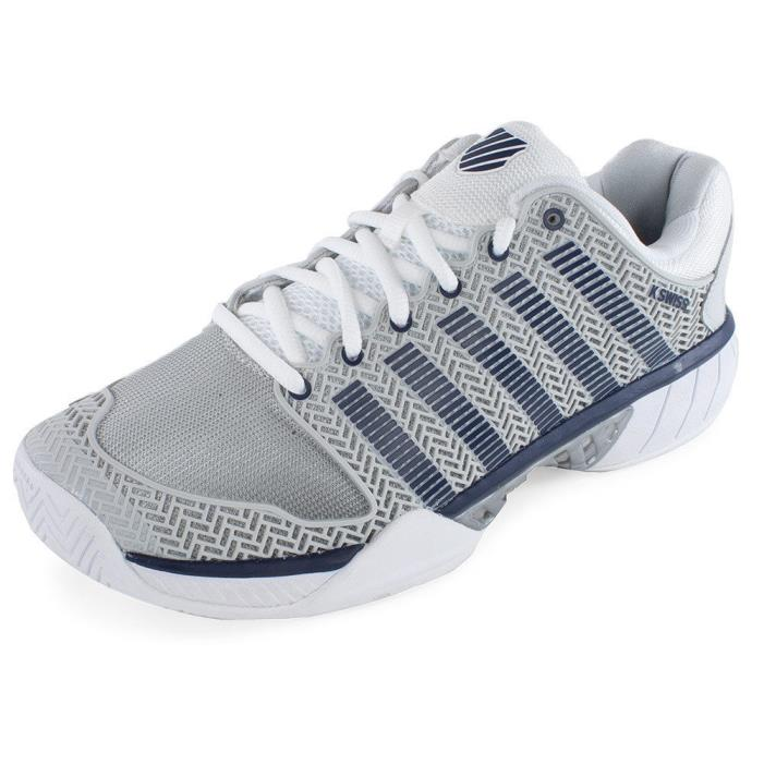 New Men's K-Swiss Hypercourt Express Tennis Shoe, Gray, Size 12, MPN 03377-080