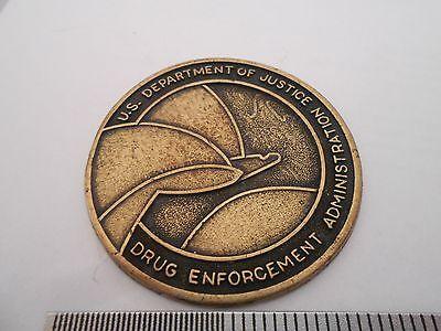 US Dept of Justice Drug Enforcement Administration Medallion Challenge Coin P2