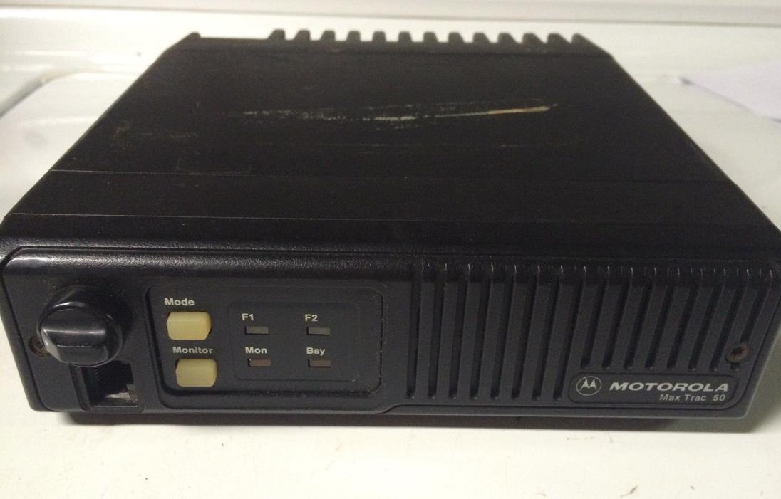 Motorola MAX TRAC 50  D44MJA7304BK 449-470 mhz 25w Mobile Radio C-B