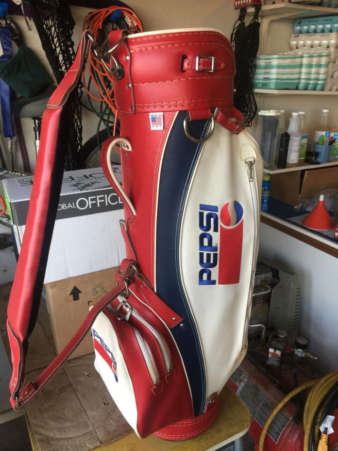 Pepsi Cart Bag (Miller Golf)