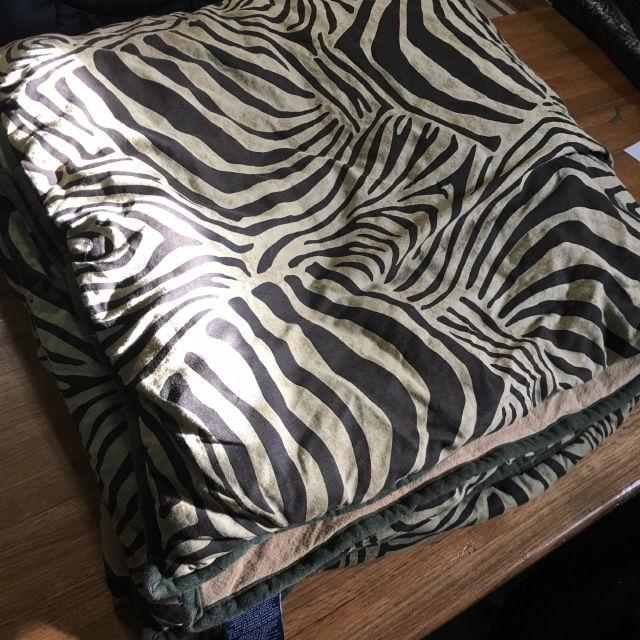 Chaps: RALPH LAUREN King Comforter ZEBRA DESERT PLAINS Animal Print/Safari Style