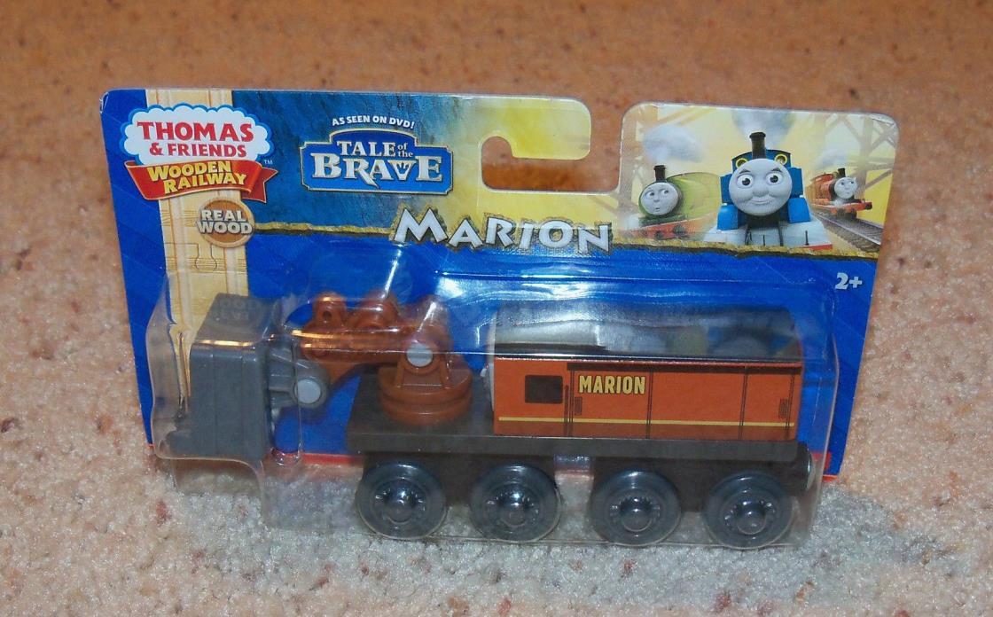 New In Box NIB Thomas Train Wood, Wooden Car, Marion Steam Shovel