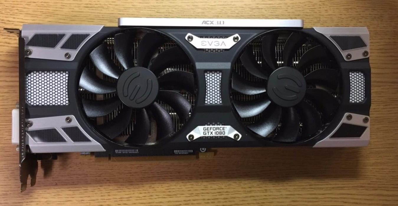 EVGA GeForce GTX 1080 8GB SC GAMING ACX 3.0 08G-P4-6183-KR