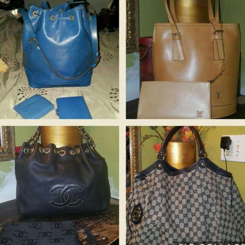 Louis Vuitton, Chanel and Gucci bundle
