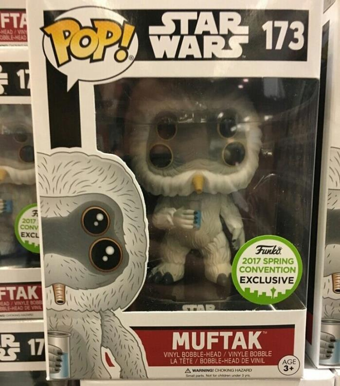 Star Wars Funko Pop! Muftak #173 ECCC Spring Convention Exclusive 2017 NEW MIB