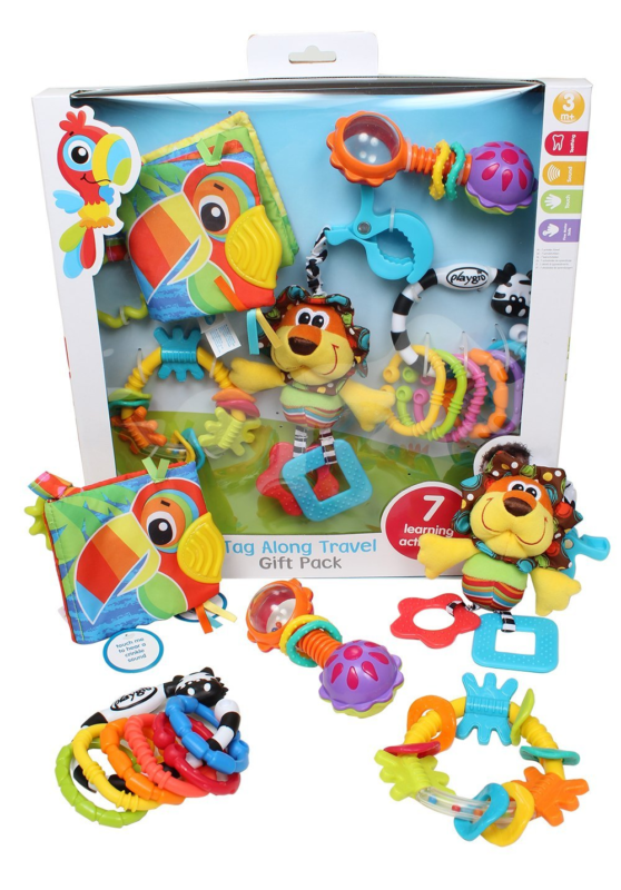 Playgro Tag Along Travel Pack for Baby