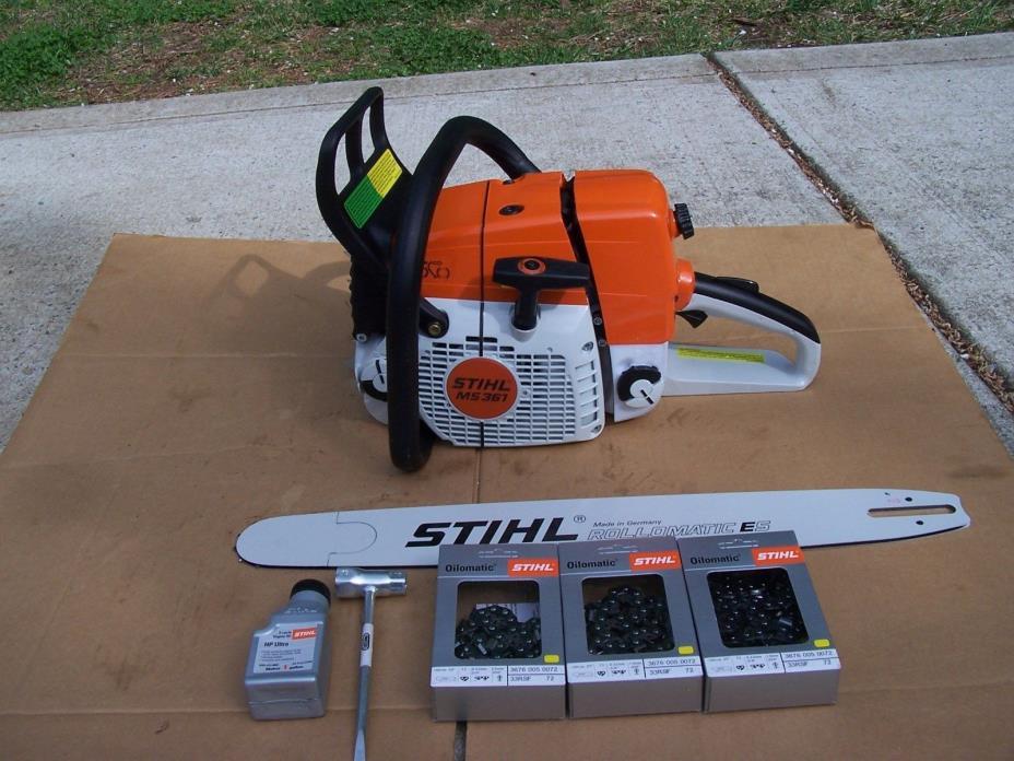 Stihl MS361 Chainsaw 20