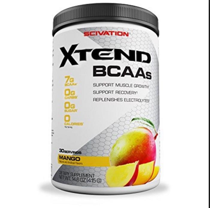 Scivation Xtend BCAAs, Mango - 30 servings