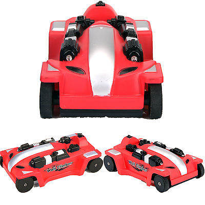 Red Wall Climber Climbing RC Racer Remote Control Racing Car Toy Kid Boys Gift