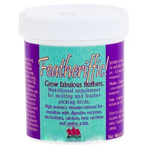 Featheriffic - Bird feather conditioning/growth supplement