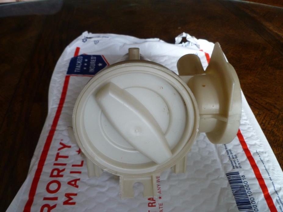 Drain Pump Housing - Trap Clean Out  only 280187 8182821 Whirlpool GE Maytag