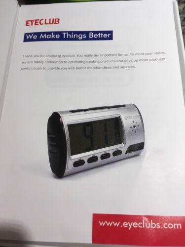 Eyeclub Hidden Camera Spy Alarm Clock Nanny Cam [with One More Mini DV And 8GB