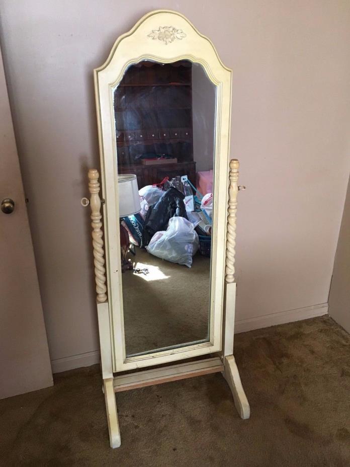 Antique Full Length Mirror