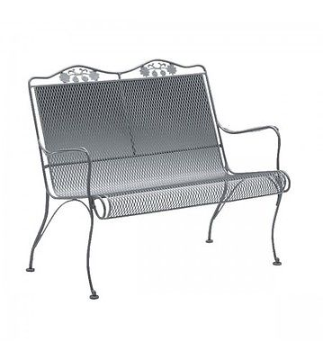 Woodard Briarwood Wrought Iron Garden Bench