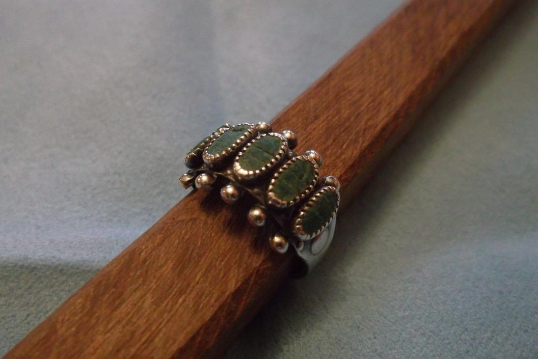 Vintage Sterling Silver Southwestern Ring size 6 1/4
