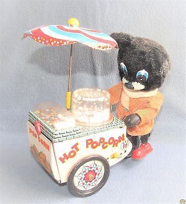 POPCORN VENDOR No. 4035 1960's JAPAN by SUZUKI & EDWARDS ( WORKING )