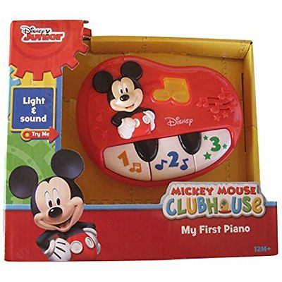 Music Sound Disney Mickey Mouse My First Piano