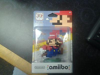 30th super Mario bros. NINTENDO MARIO MODERN COLOR amiibo for Wii u and 3DS