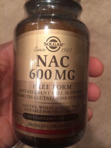 Solgar NAC 600 mg 120 caps