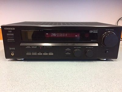 KENWOOD Home Theater System HTB-206, VR-715 Receiver, Surround Sound & Subwoofer