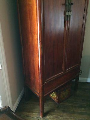 Vintage Wood Asian Cabinet