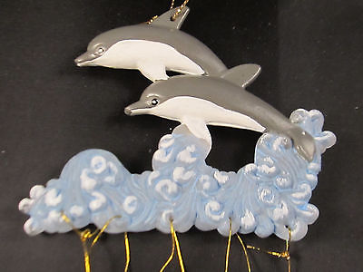 Acrylic Dolphins Wind Chime Home Indoor Outdoor Yard Patio Garden Decor