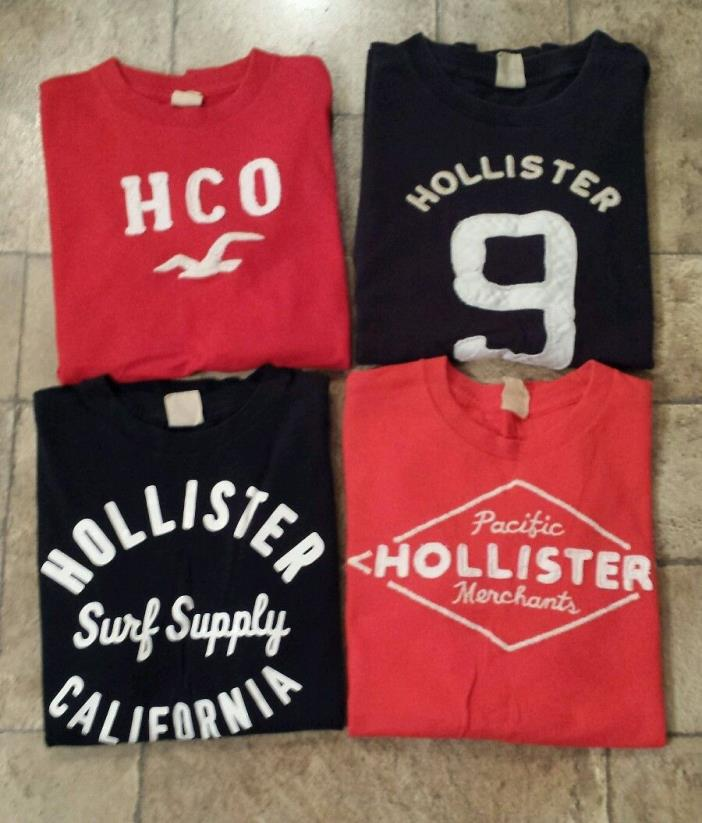 Lot of Mens Hollister T-shirts size Small